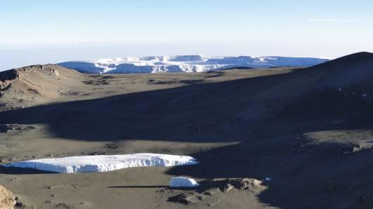 Der Furtwängler Gletscher am 27.08.2017