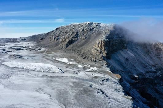 Der Furtwängler Gletscher am 01.08.2019
