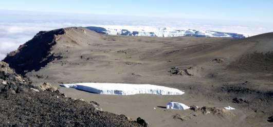 Der Furtwängler Gletscher am 13.09.2016