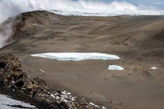 Der Furtwängler Gletscher am 19.01.2017