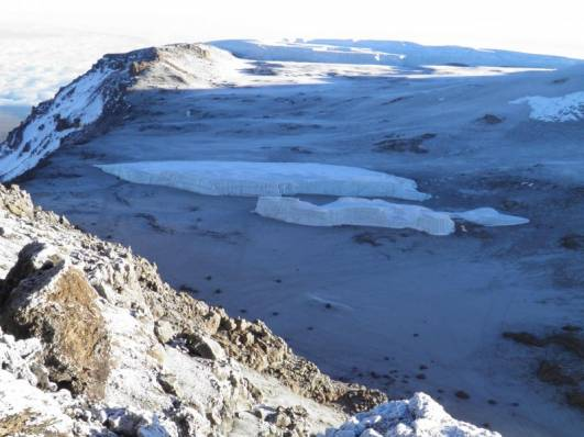 Futwängler Gletscher am 19.07.2010
