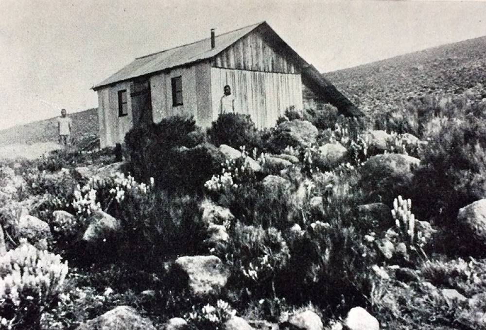 1926 - Peter's Hut, 11.500 ft.