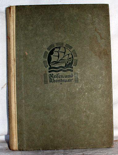 03. 1928 - Hochtouren im tropischen Afrika, Hans Meyer, Verlag F.A. Brockhaus, Leipzig,<br><b>Der Buchdeckel</b>