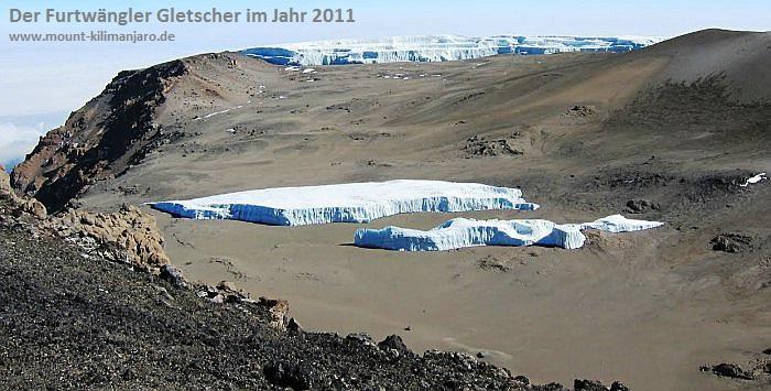 Furtwängler Gletscher<br><b>2011</b>