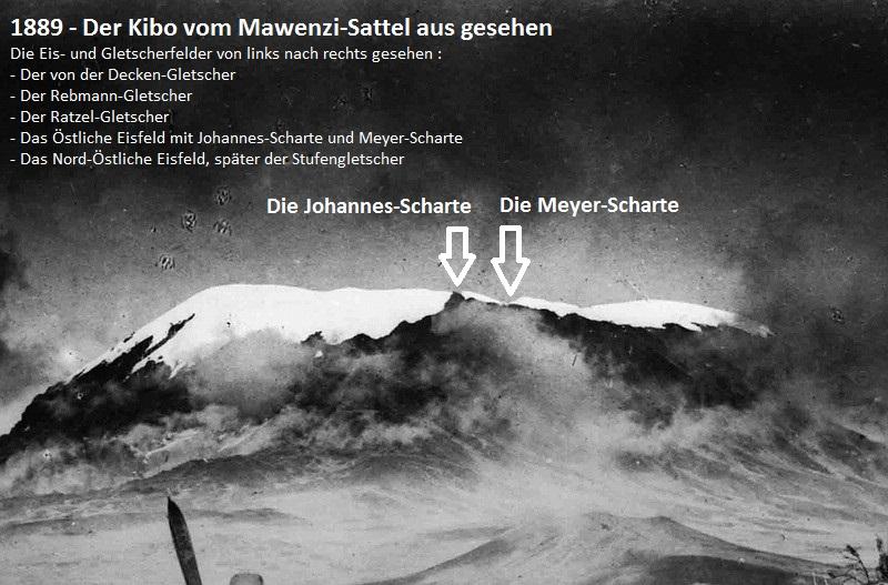 1889 - Johannes-Scharte und Meyer-Scharte im Östlichen Eisfeld