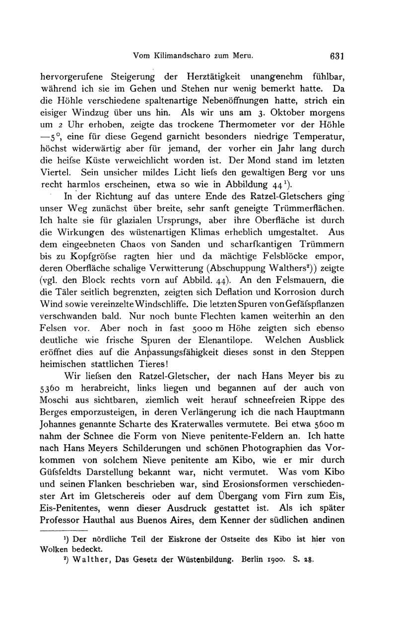 1904 - Dr.[[Carl Uhlig]] - Vom Kilimandscharo zum Meru. Zeitschrift der Gesellschaft für Erdkunde zu Berlin (Seite 631)