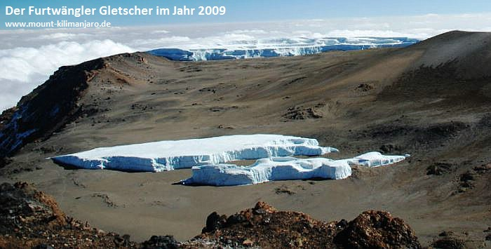 Der Furtwängler Gletscher 2009
