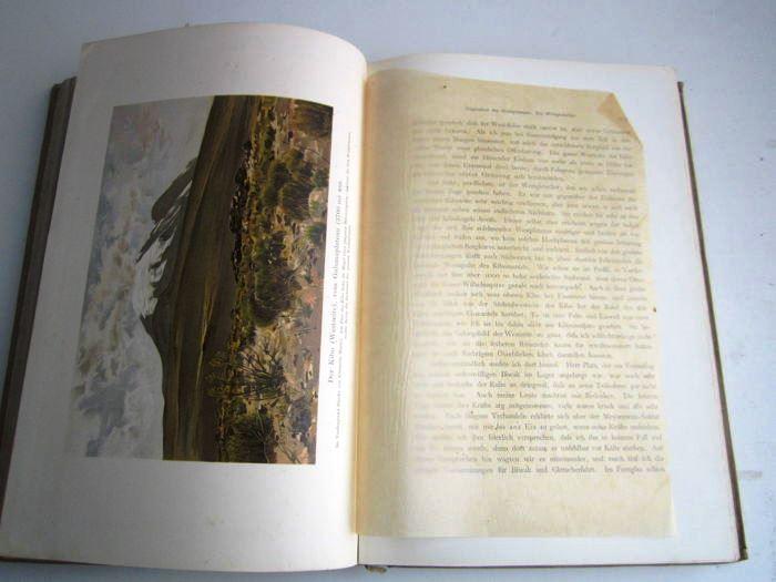 08. Der Kilimandjaro,<br>Prof. Dr. Hans Meyer, Verlag Dietrich Reimer,<br><b>Ernst Platz Bild</b>