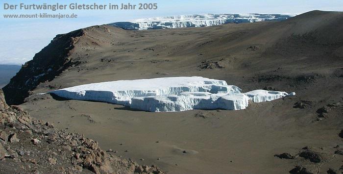 Furtwängler Gletscher<br><b>2005</b>