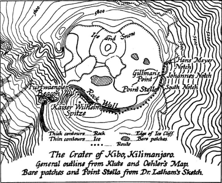 Datei:1926 Crater of Kibo by Latham and Gillman.jpg