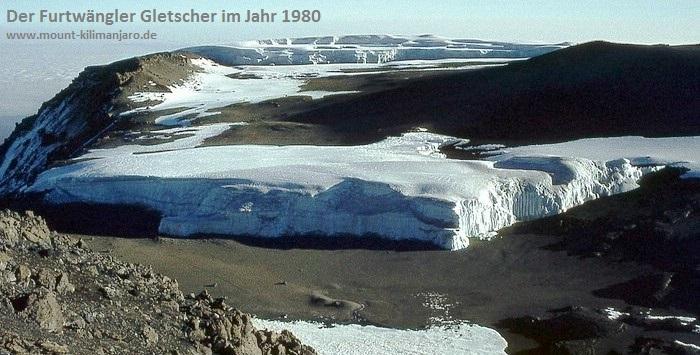 Der Furtwängler Gletscher 1980