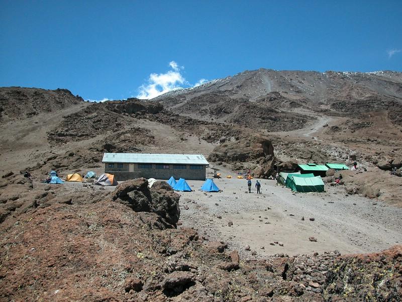 2005 - Die Kibo-Hütte