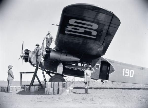 Fokker F.VII b-3m, CH-190, Switzerland