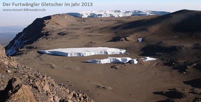 Der Furtwängler Gletscher 2013