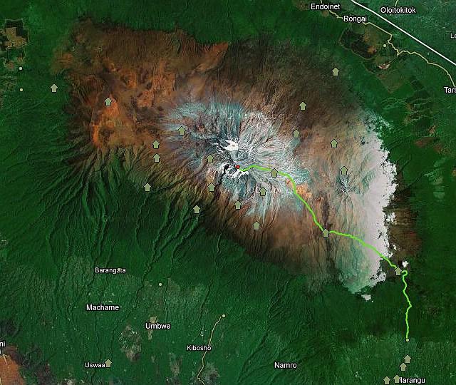 Die Marangu Route