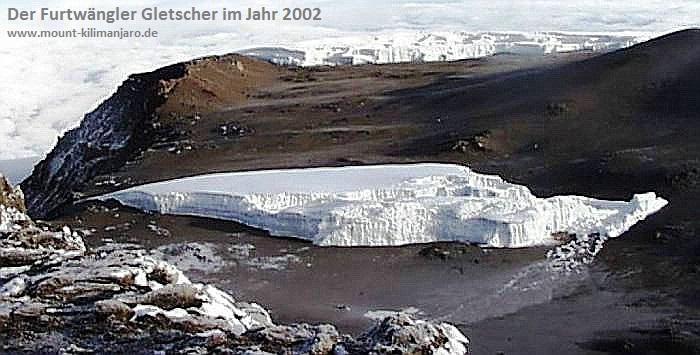 Der Furtwängler Gletscher 2002