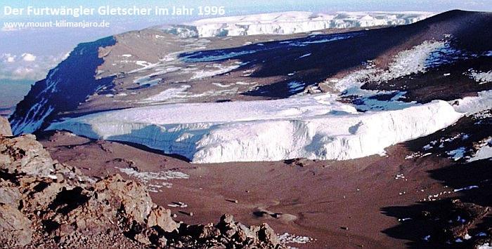 Der Furtwängler Gletscher 1996