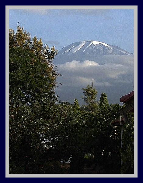 2005 - Der Kilimandscharo.