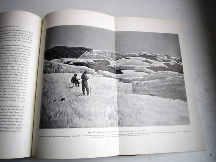 06. 1900 - Der Kilimandjaro, Prof. Dr. Hans Meyer, Verlag Dietrich Reimer, Berlin,<br><b>Ernst Platz Bild</b>