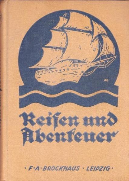 02. 1923 - Hochtouren im tropischen Afrika, Hans Meyer, Verlag F.A. Brockhaus, Leipzig,<br><b>Der Buchdeckel</b>