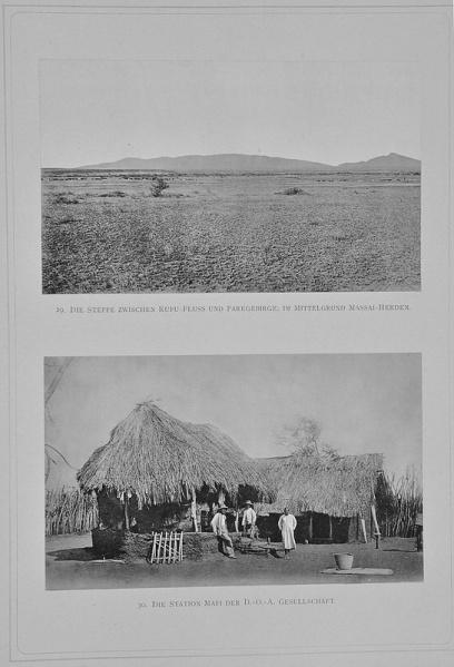 1888 - Zum Schneedom des Kilimandscharo - Dr. Hans Meyer, 05