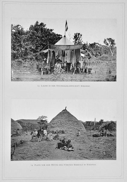1888 - Zum Schneedom des Kilimandscharo - Dr. Hans Meyer, 03