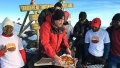 2016 05 11 highest altitude pizza delivery on kilimanjaro.jpg