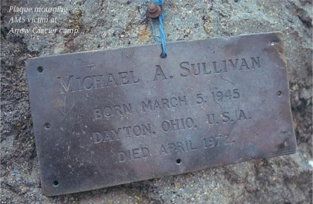 Gedenktafel M.A. Sullivan